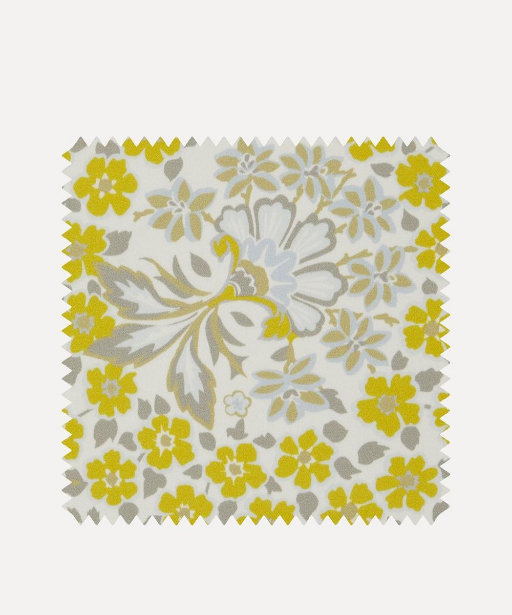 Liberty Interiors - Fabric Swatch - Marquess Garden Chesham Sateen in Lichen image number 0
