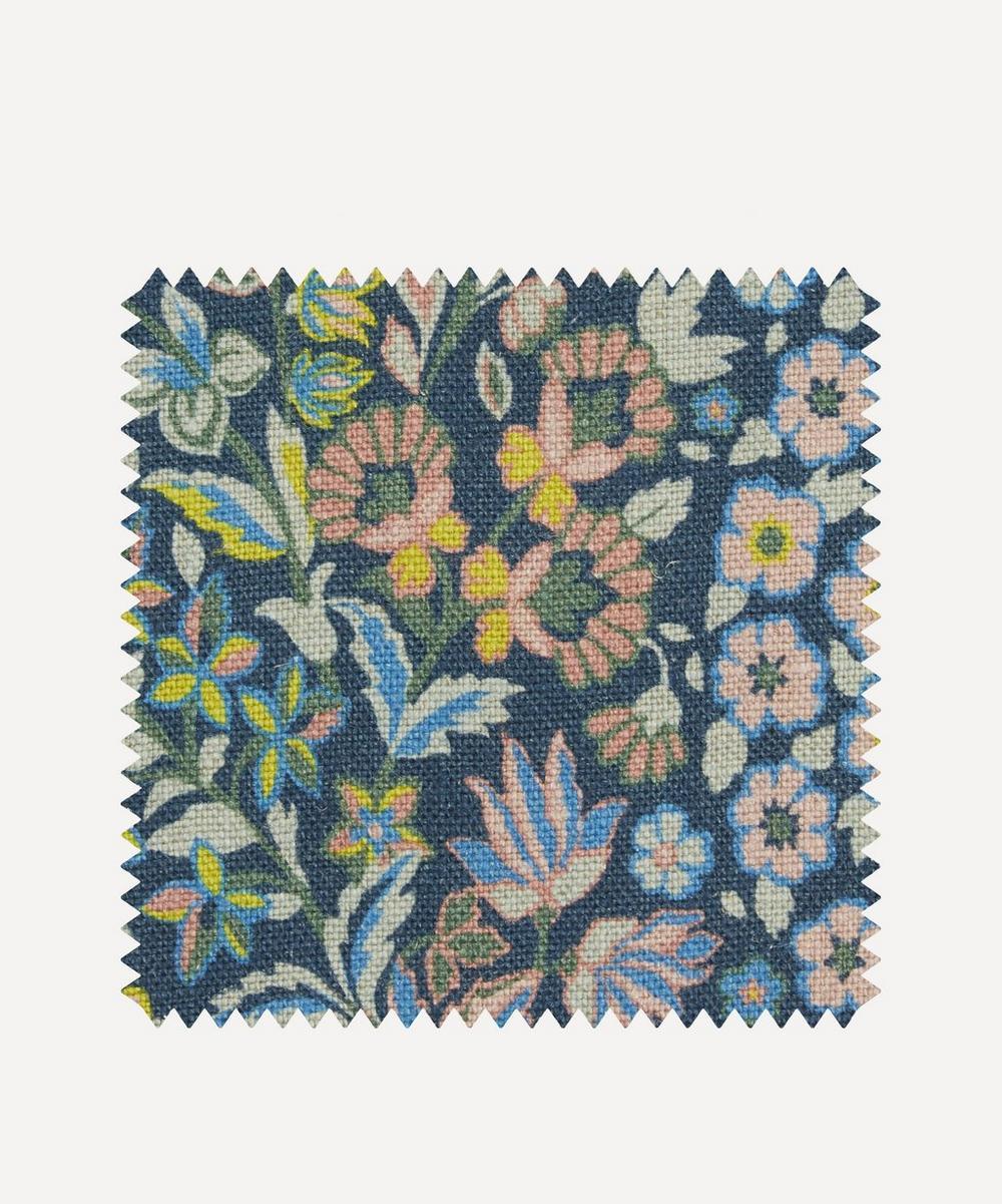 Liberty Fabrics Interiors - Fabric Swatch - Marquess Garden Ladbroke Linen in Lichen