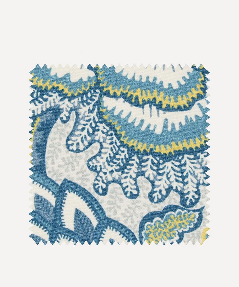 Liberty Fabrics Interiors - Fabric Swatch - Patricia Emberton Linen in Lichen