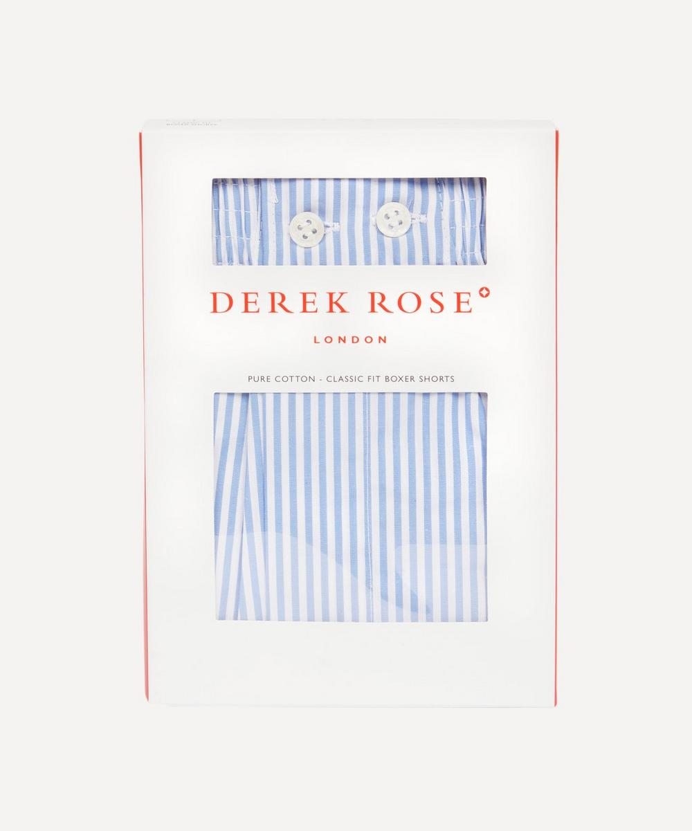 Derek Rose - James Classic Stripe Cotton Boxer Shorts