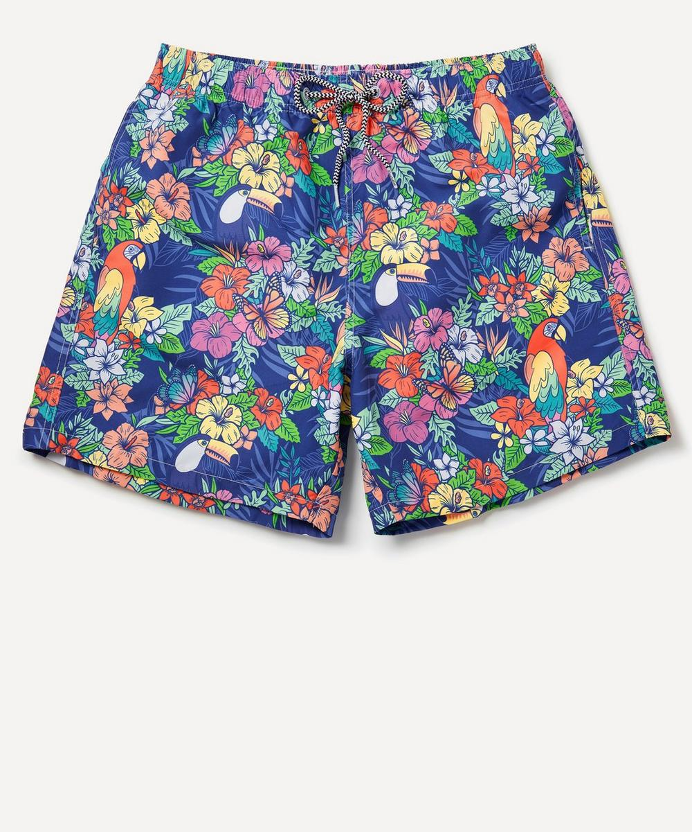 Boardies - Jungle Print Swim Shorts