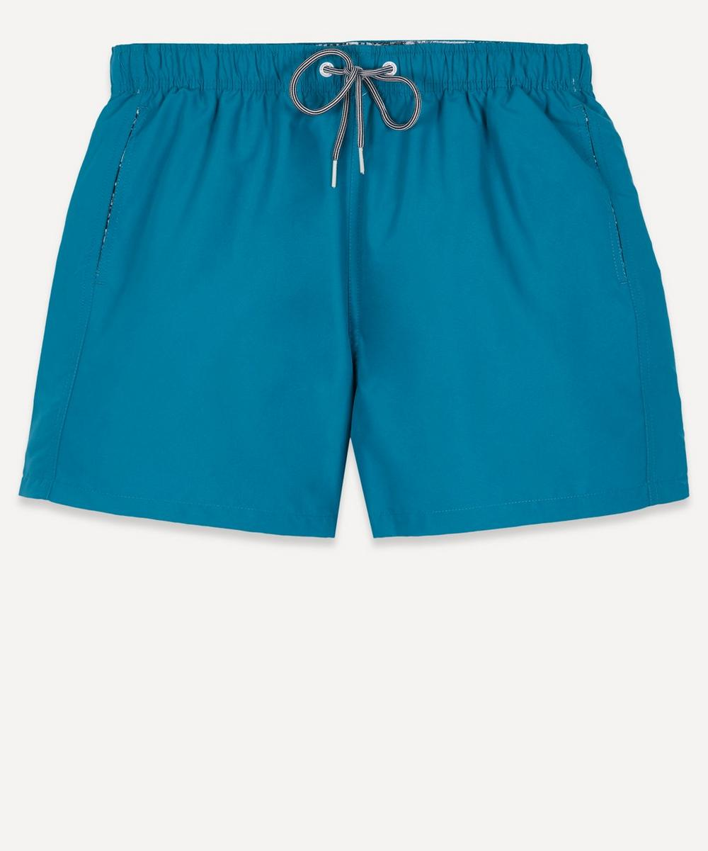 Boardies - Teal Blue Water Reactive Swim Shorts