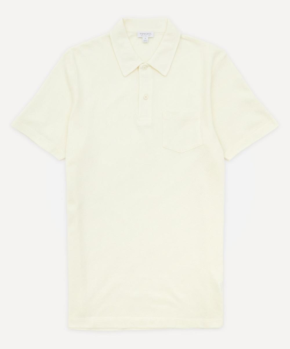 Sunspel - Riviera Mesh Polo-Shirt