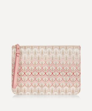 Iphis Cherry Blossom Large Canvas Clutch Pouch