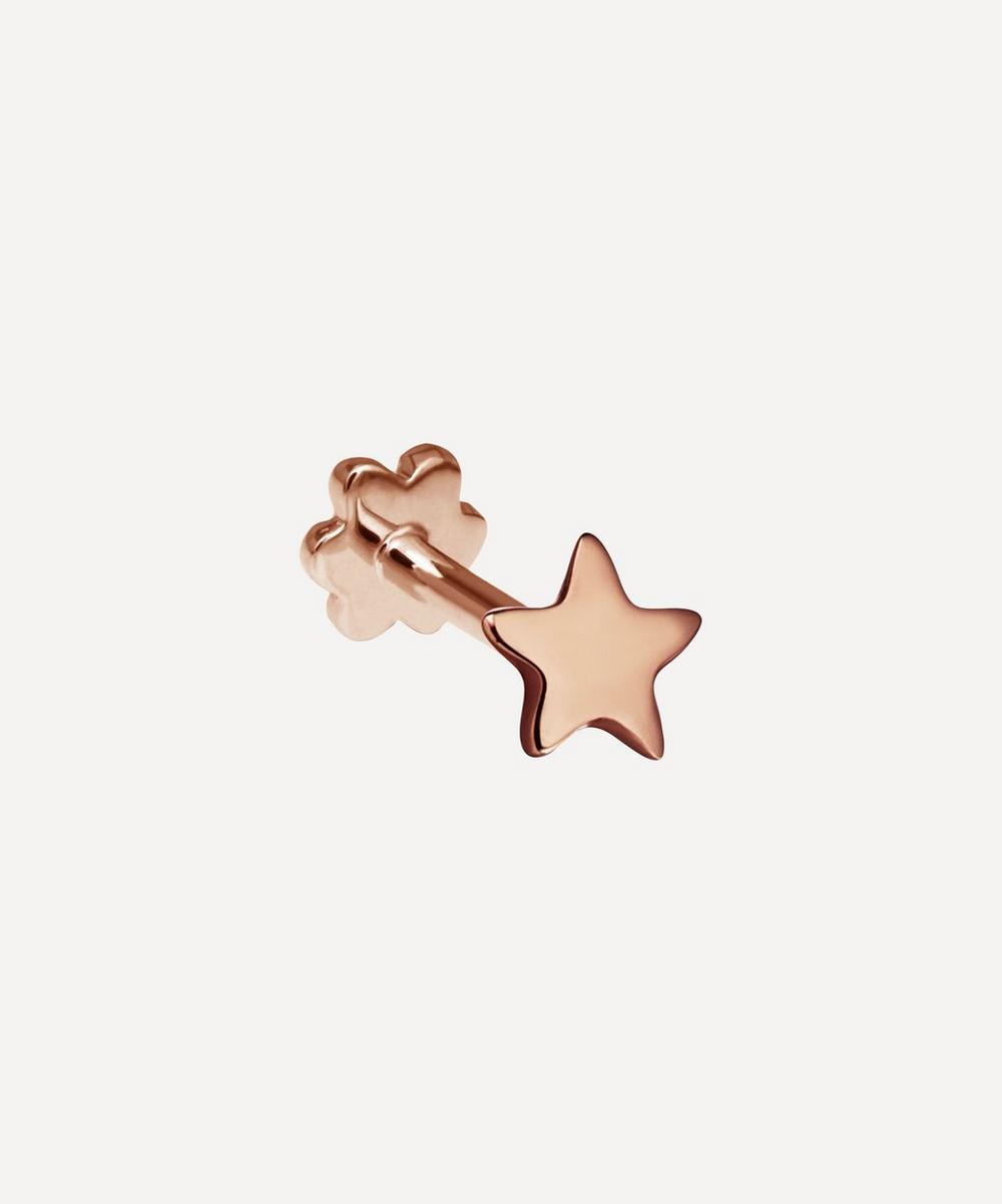 Maria Tash - Plain Star Threaded Stud Earring