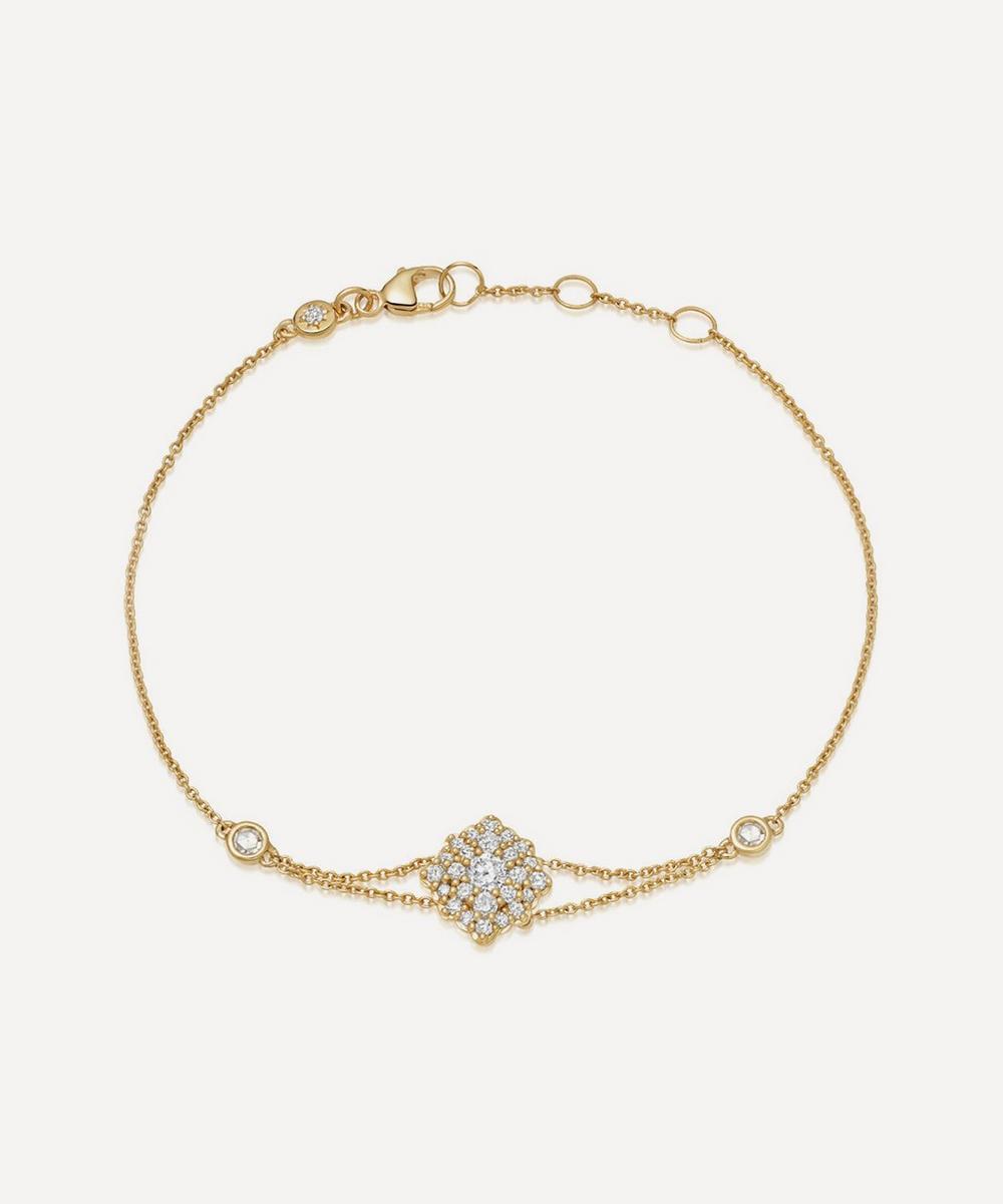 Astley Clarke - Gold Interstellar Cluster Diamond Bracelet
