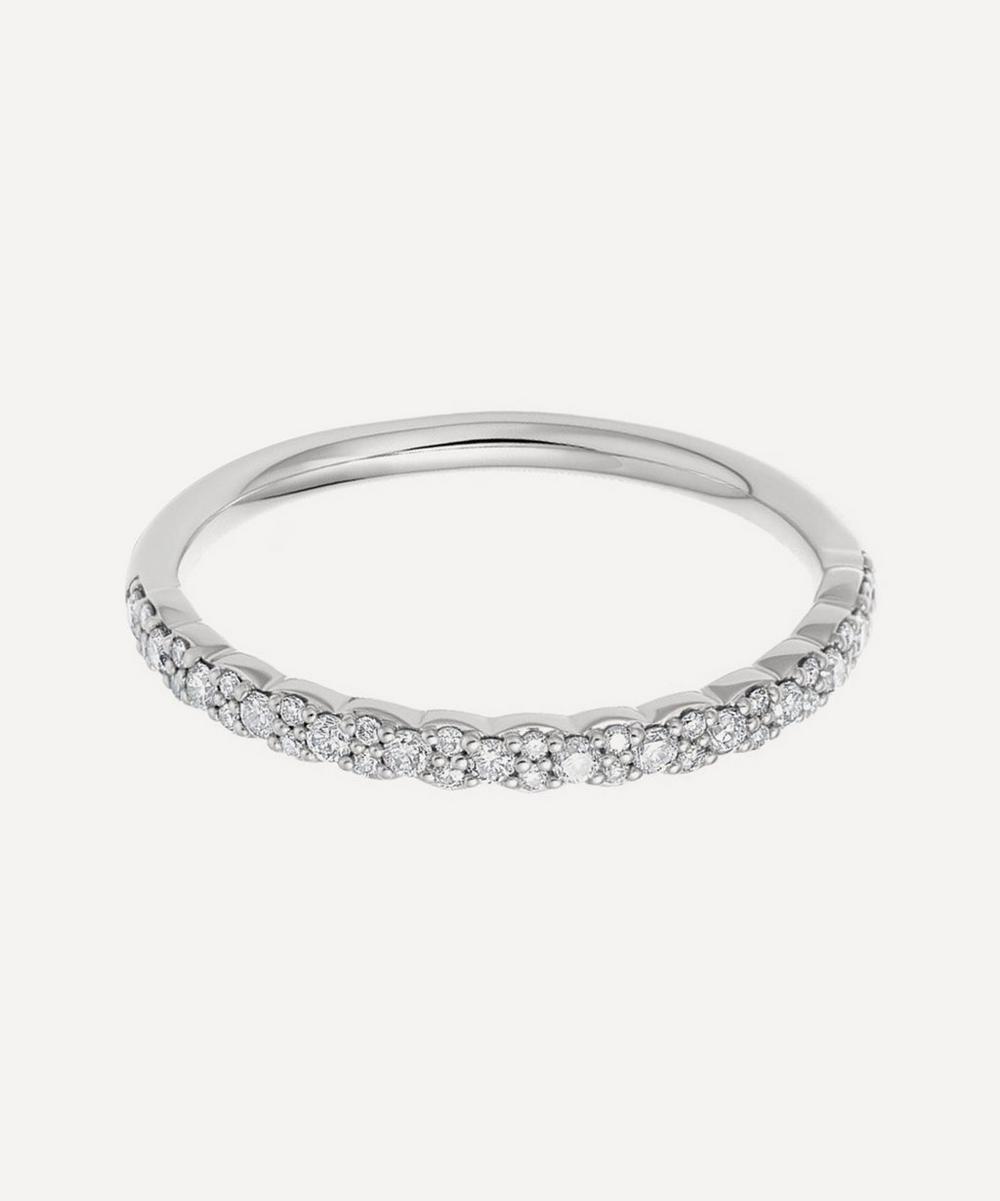 Astley Clarke - White Gold Interstellar Diamond Half Eternity Ring
