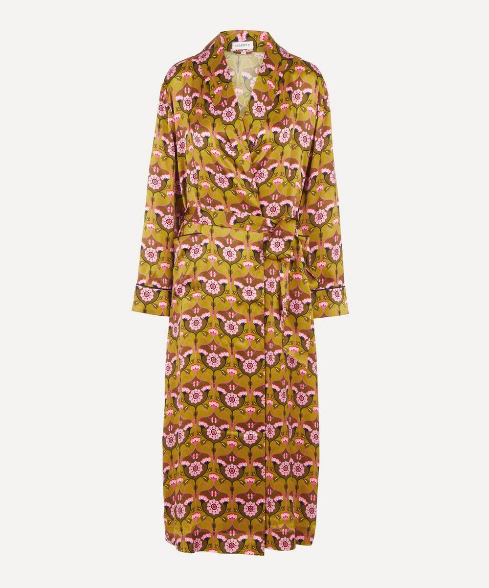 Liberty - Pia Silk Charmeuse Robe