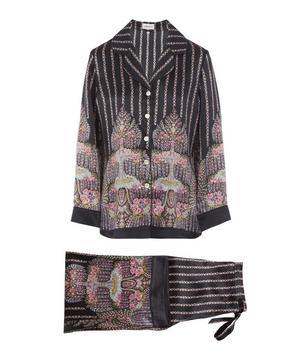 Seraphina Silk Charmeuse Pyjama Set