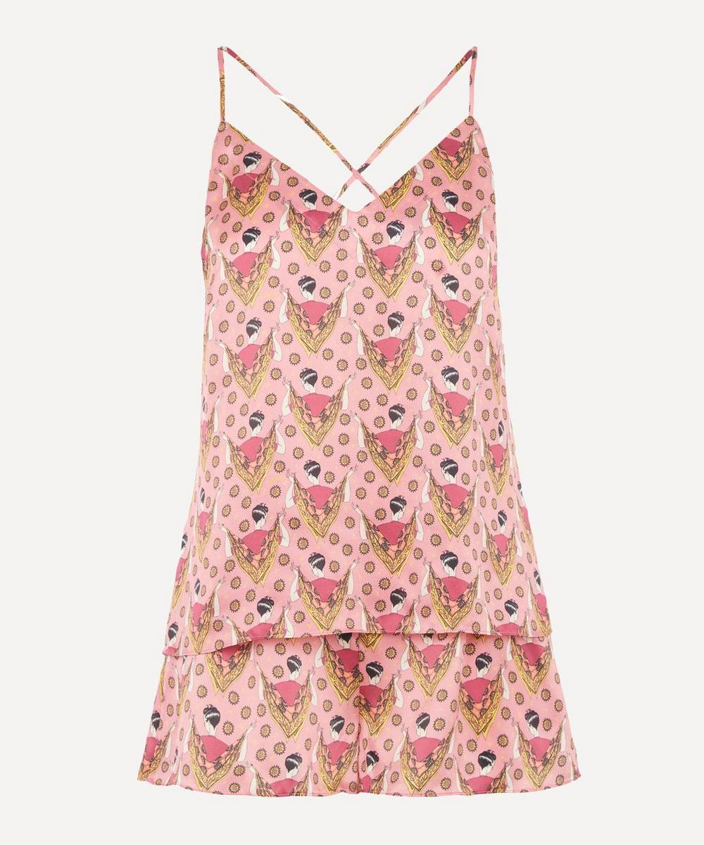 Liberty - Sweet Thing Silk Charmeuse Camisole and Short Set