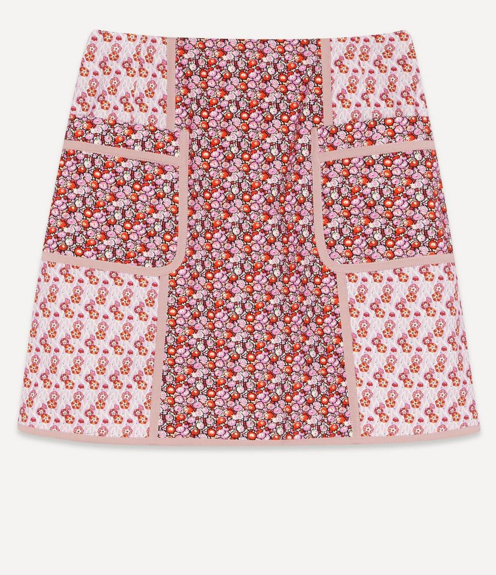 Liberty - Talitha Stretch Cotton Mini Skirt