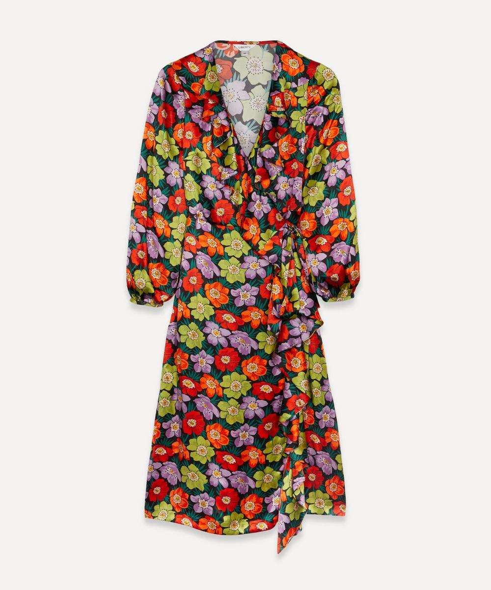 Liberty - Rhonda Silk Wrap Dress image number 0