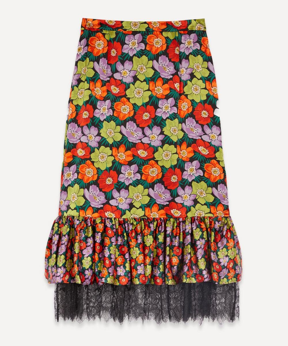 Liberty - Rhonda Tilly Silk Frilled Skirt