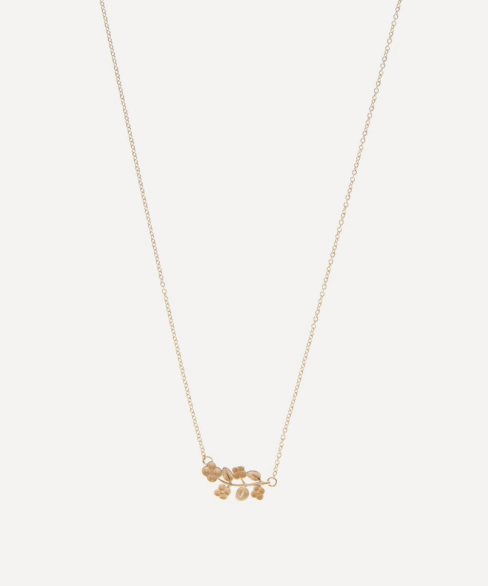 Liberty - Gold Blossom Pendant Necklace