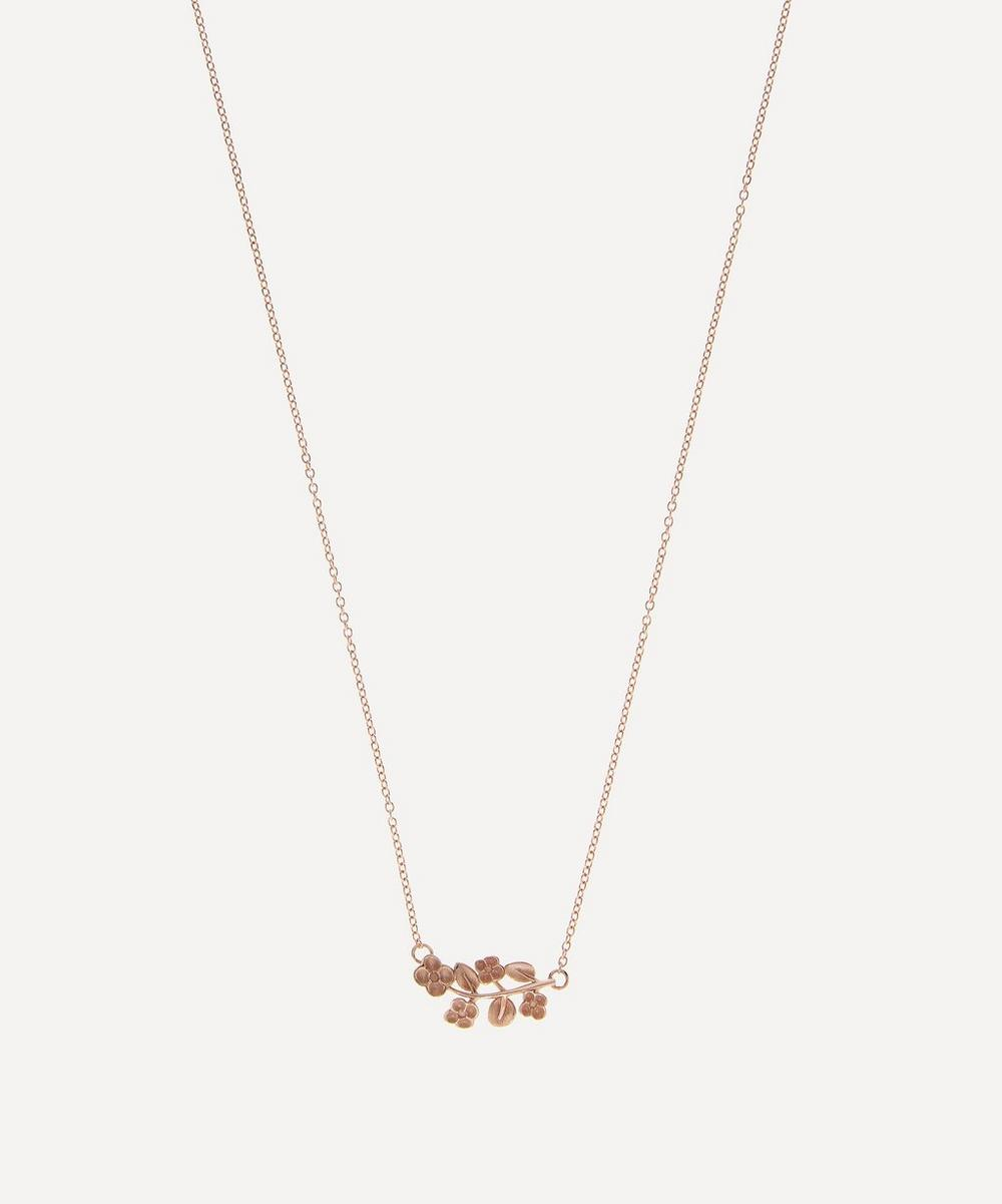 Liberty - Rose Gold Blossom Pendant Necklace