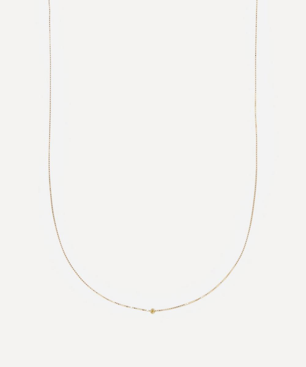 Atelier VM - Gold Karma Long Infinity Chain Necklace