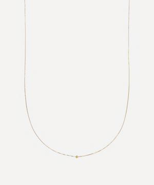 Gold Karma Long Infinity Chain Necklace