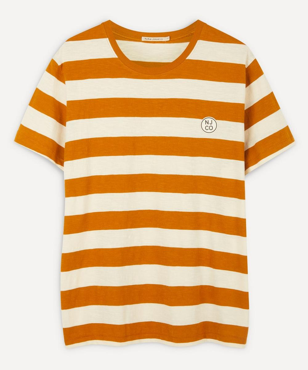 Nudie Jeans - Roy Long-Sleeve Stripe Slub T-Shirt