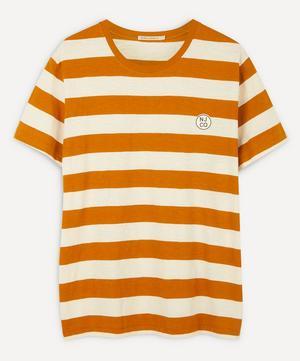 Roy Long-Sleeve Stripe Slub T-Shirt