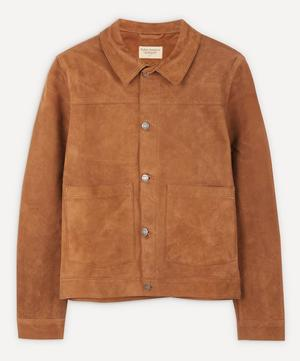 Dante Nubuck Leather Jacket