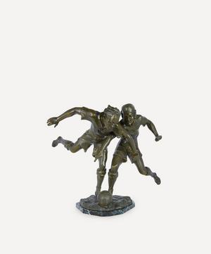 1920s Lemoyne La Lutte Régule Sculpture