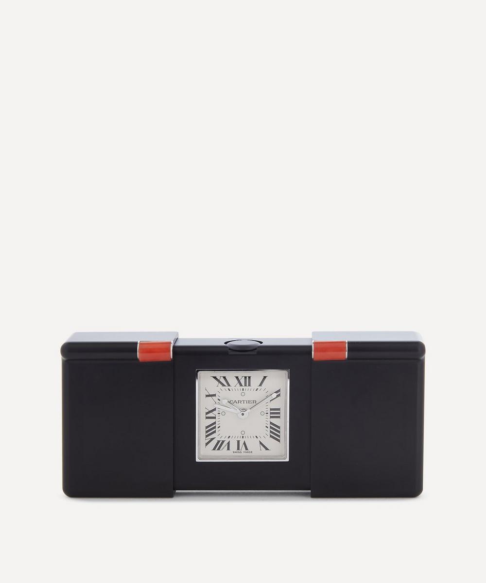 Designer Vintage - Turn of the Century Cartier Teflon Quartz Travel Alarm Clock