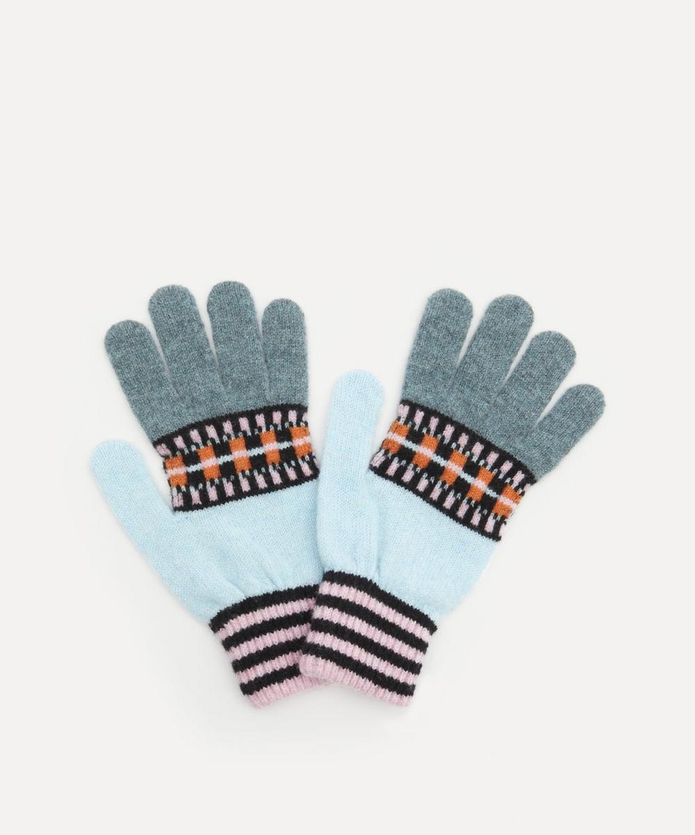 Quinton Chadwick - Geo Stripe Wool Gloves