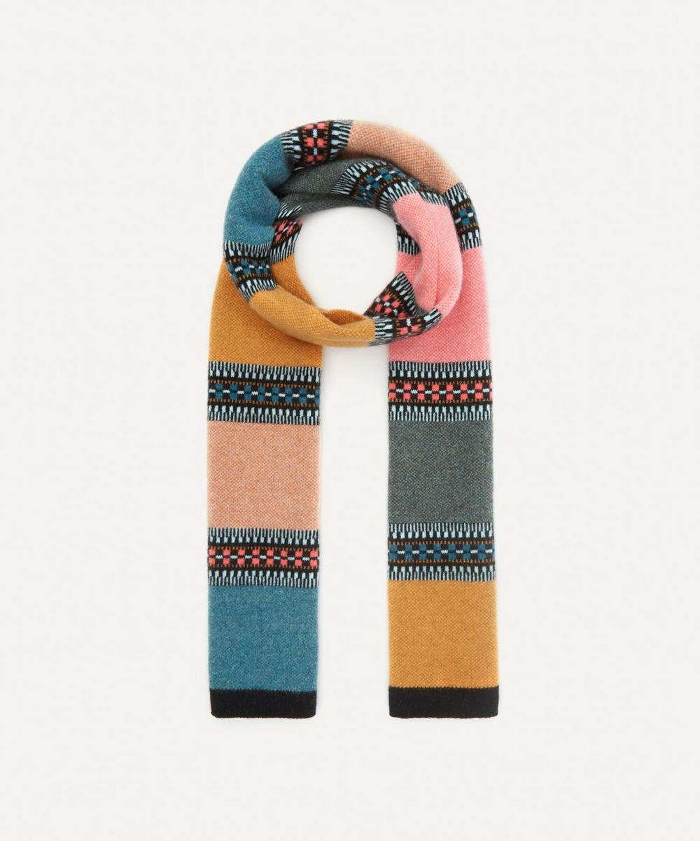 Quinton Chadwick - Block Stripe Wool Scarf