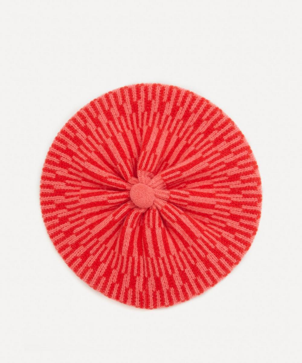 Quinton Chadwick - Striped Wool Pom Pom Beret Hat