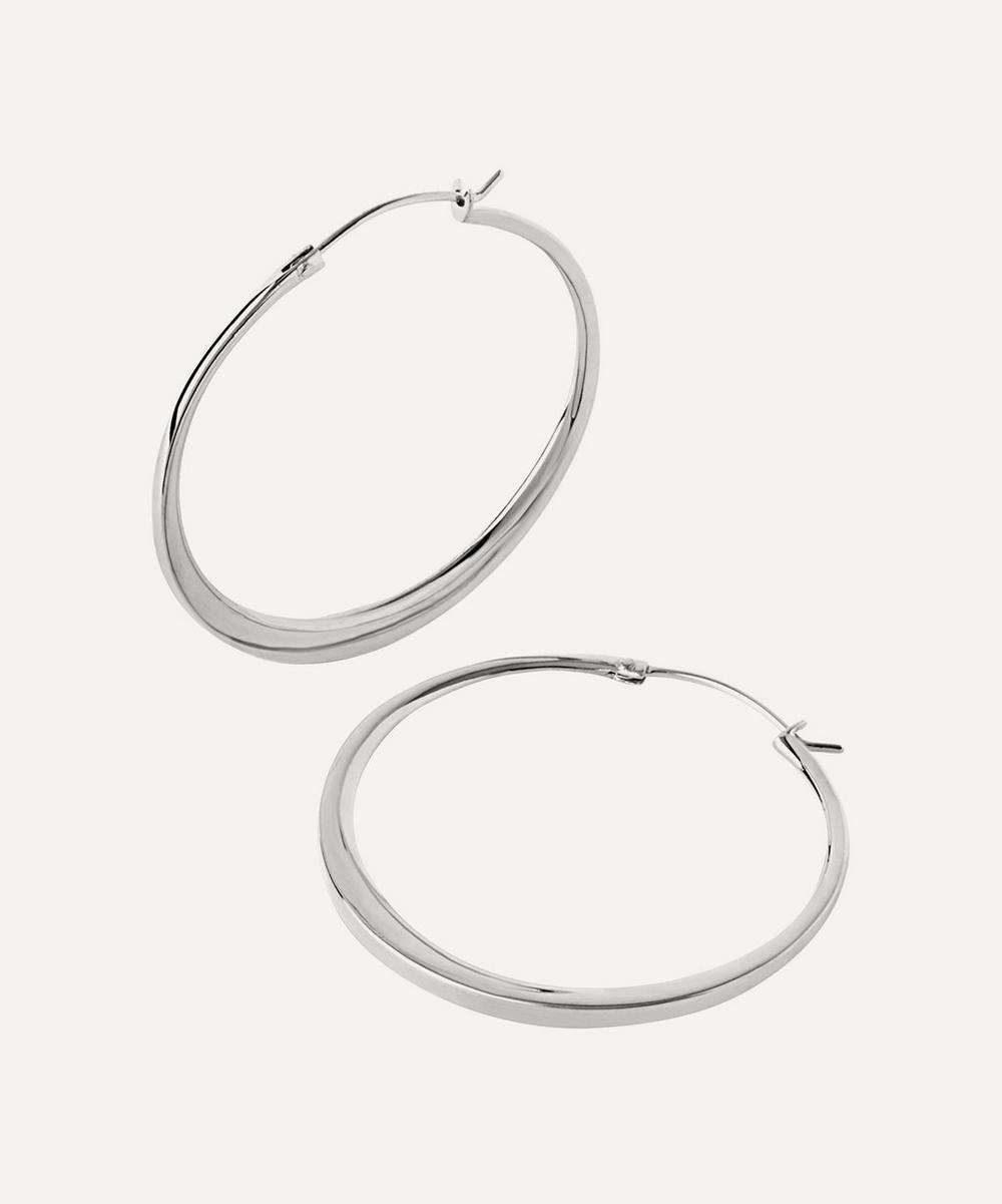 Dinny Hall - Silver Signature Medium Hoop Earrings