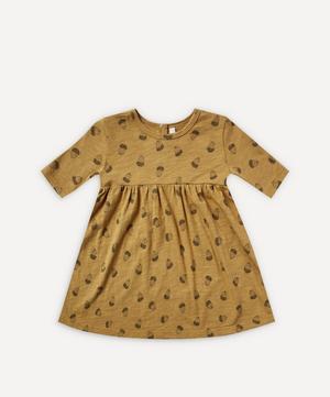 Acorn Print Finn Dress 0-24 Months