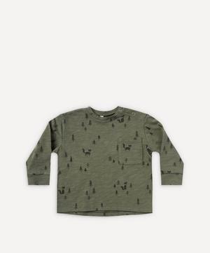 Woods Print Long-Sleeve Skater T-Shirt 0-24 Months