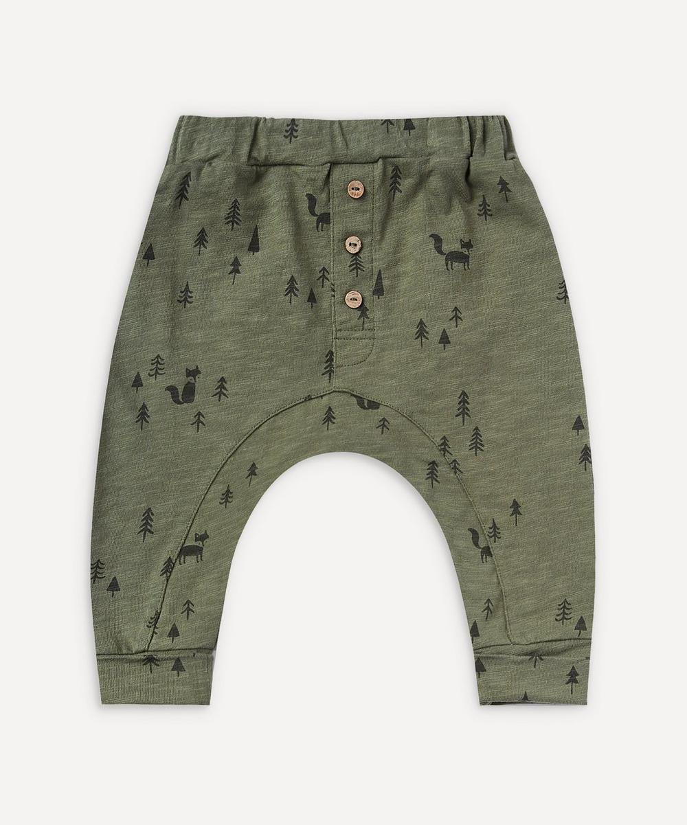 Rylee + Cru - Woods Print Slub Pants 0-24 Months