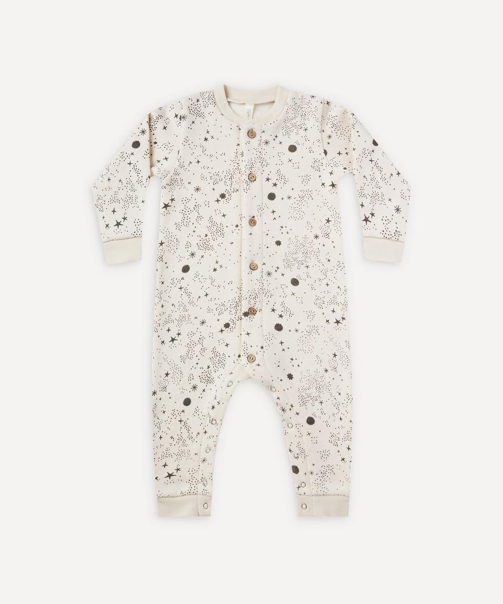 Rylee + Cru - Stardust Print Fleece Long John 0-24 Months