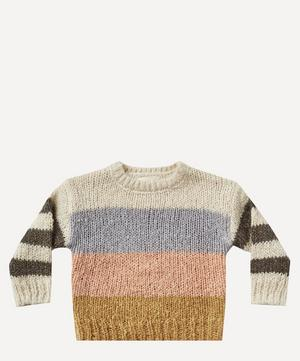 Colour Block Aspen Sweater 2-8 Years