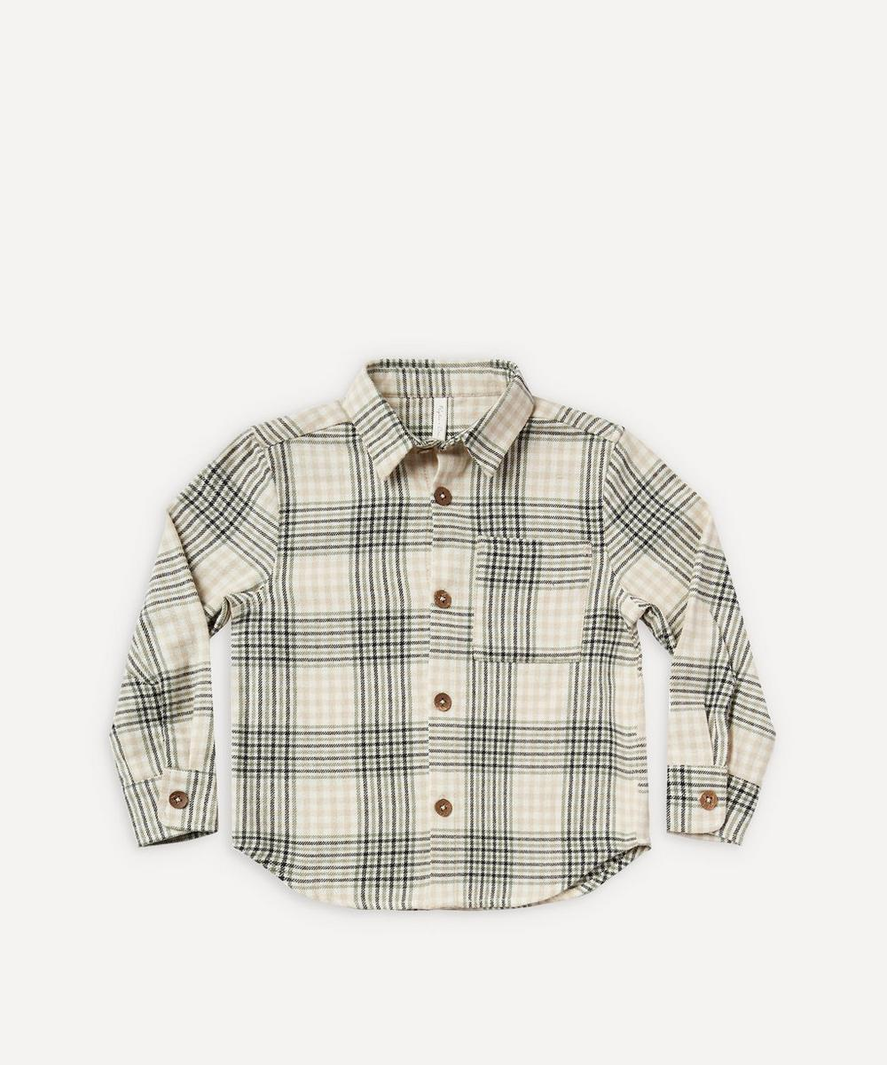 Rylee + Cru - Flannel Collared Shirt 2-8 Years