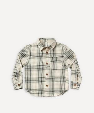 Flannel Collared Shirt 2-8 Years