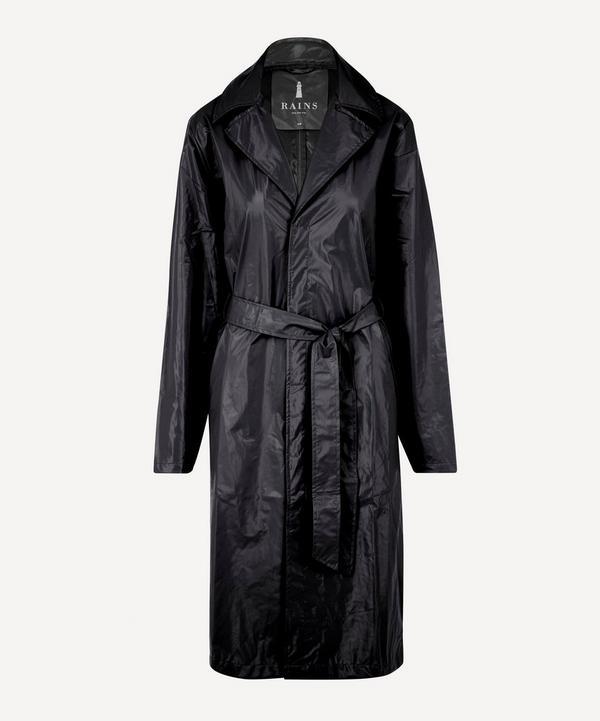 RAINS - City Belted Shiny Overcoat