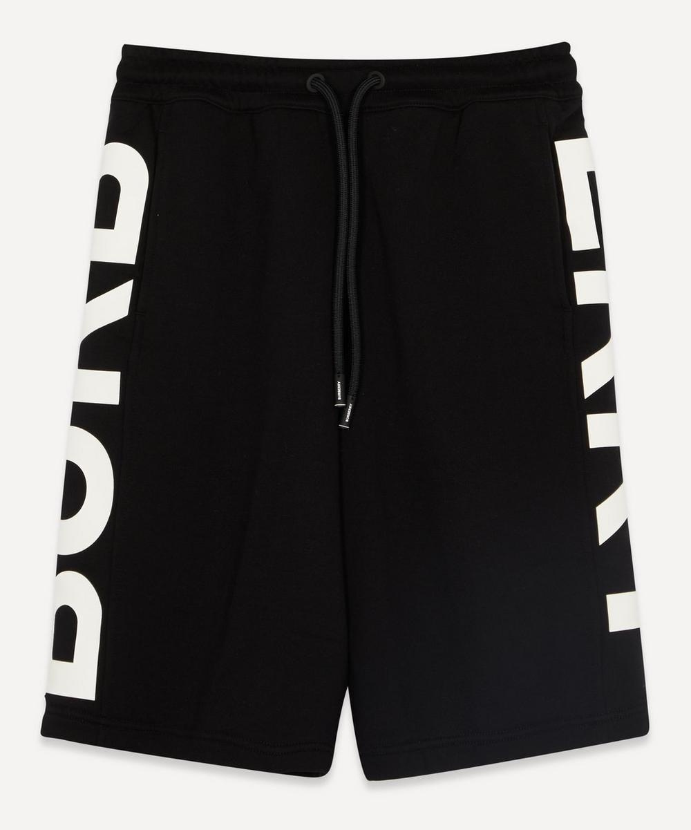 Burberry - Fawnley Bold Logo Side Jersey Shorts