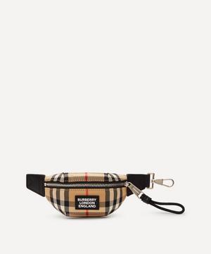 Vintage Check Bum Bag Charm