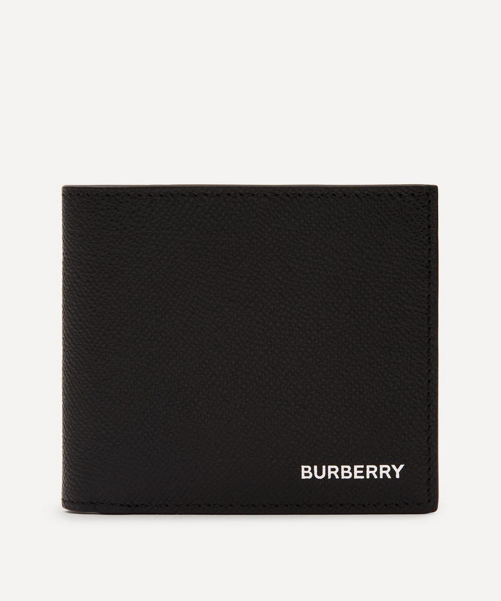 Burberry - Grainy Leather International Bifold Wallet