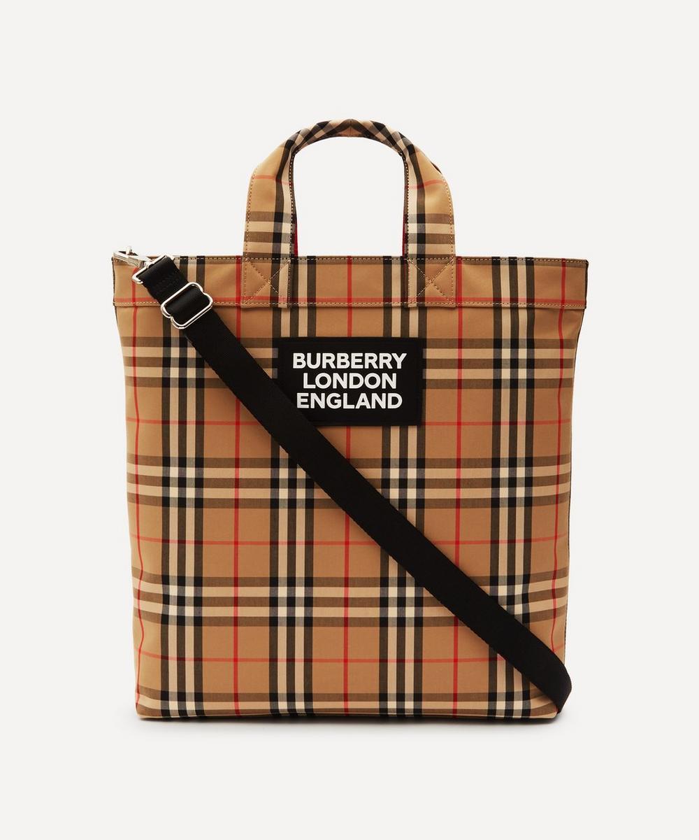 Burberry - Artie Vintage Check Tote Bag