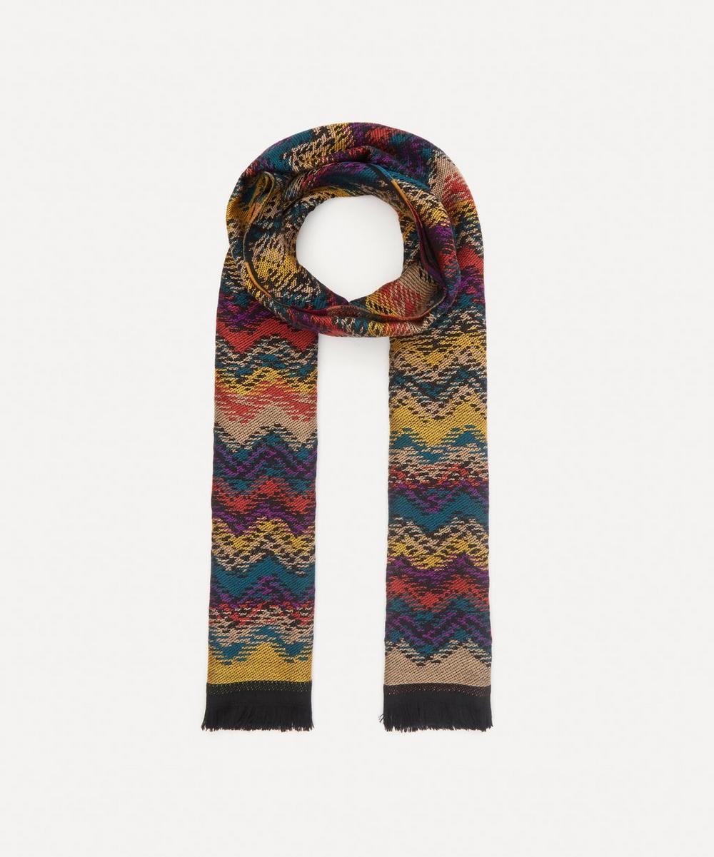 Missoni - Zig-Zag Stripe Wool Scarf