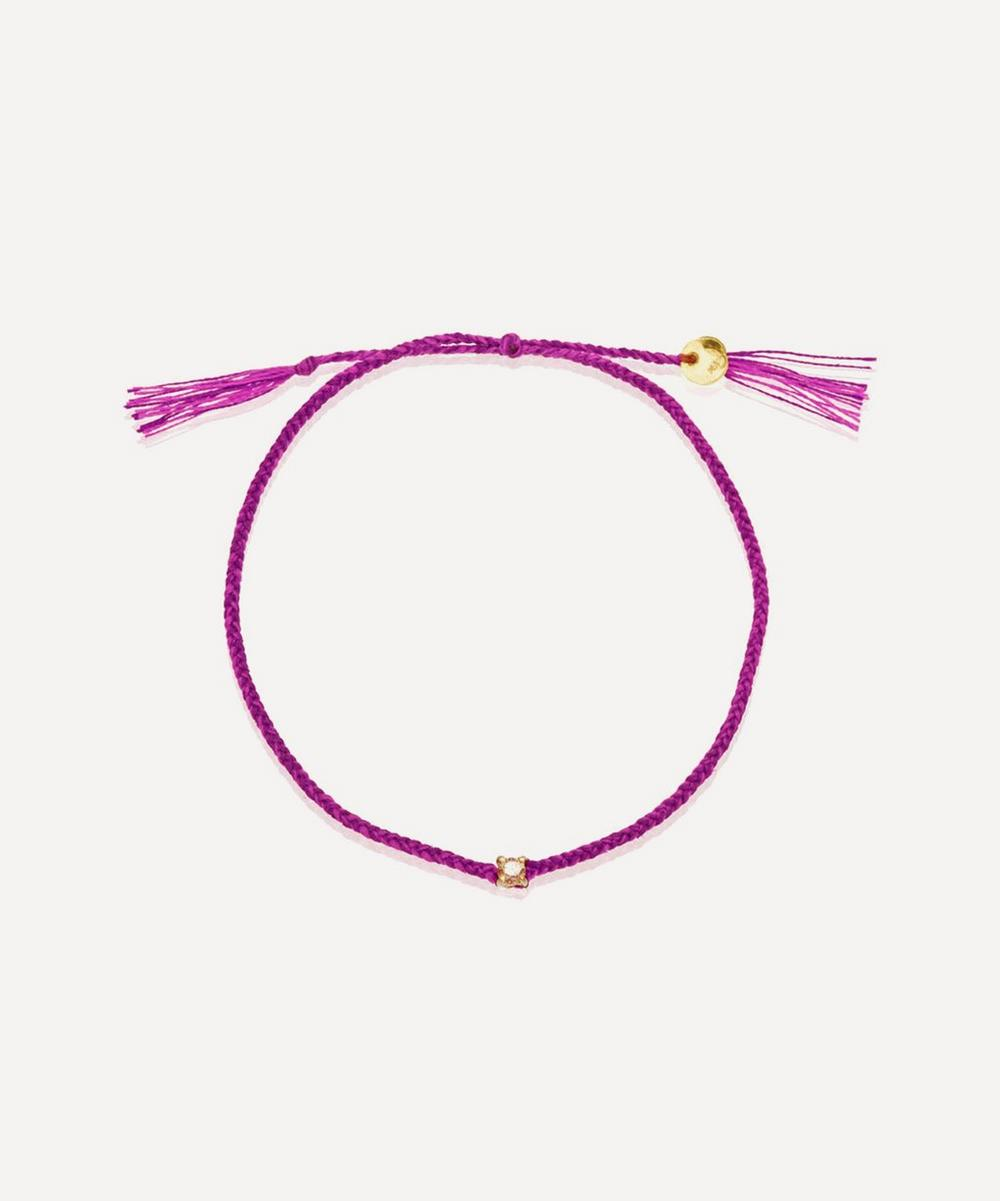 Atelier VM - Lucy Diamond Cotton Bracelet
