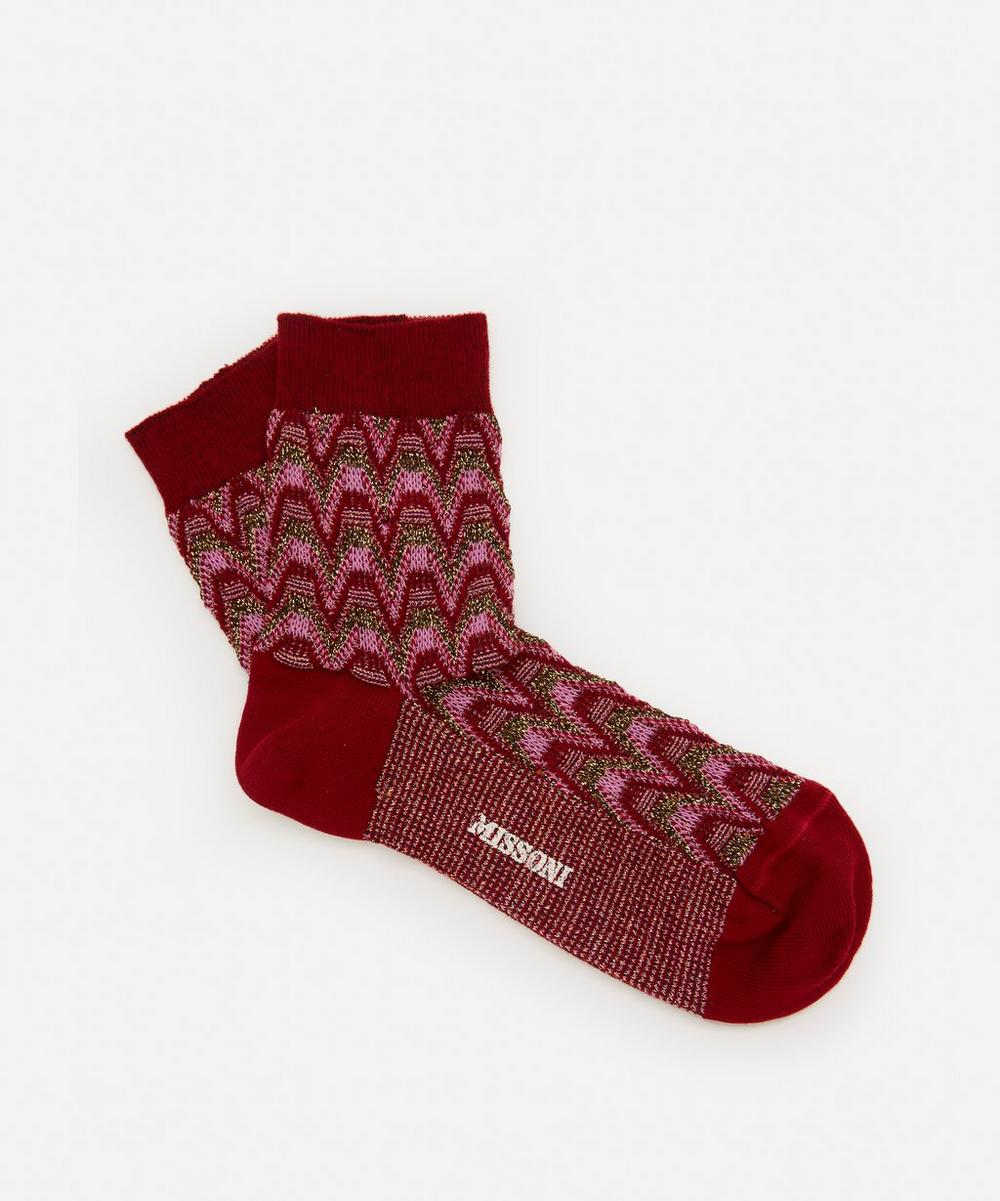 Missoni - Wave Stripe Cotton-Blend Socks