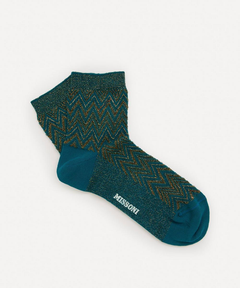 Missoni - Zig-Zag Stripe Cotton-Blend Socks
