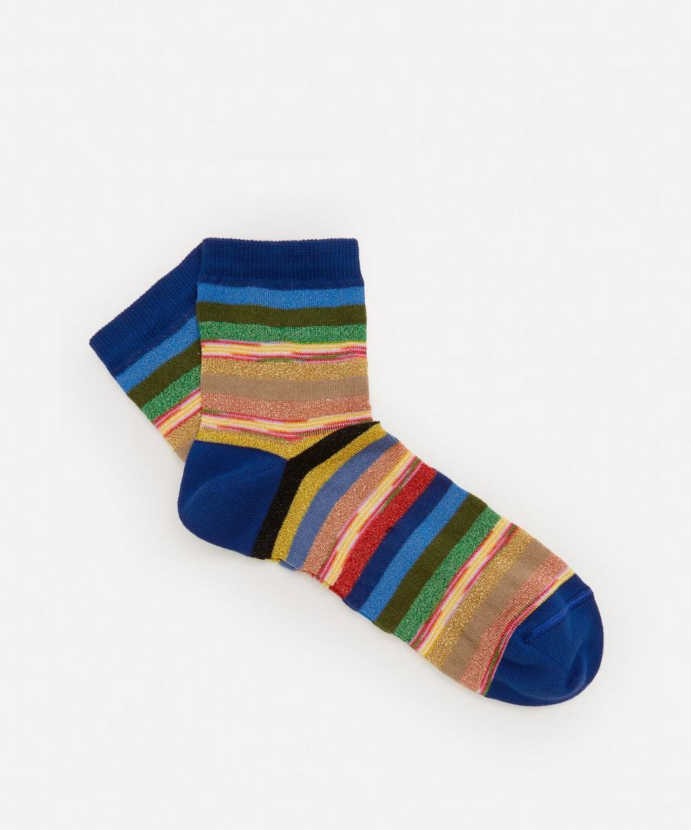 Missoni - Multi Stripe Cotton-Blend Socks
