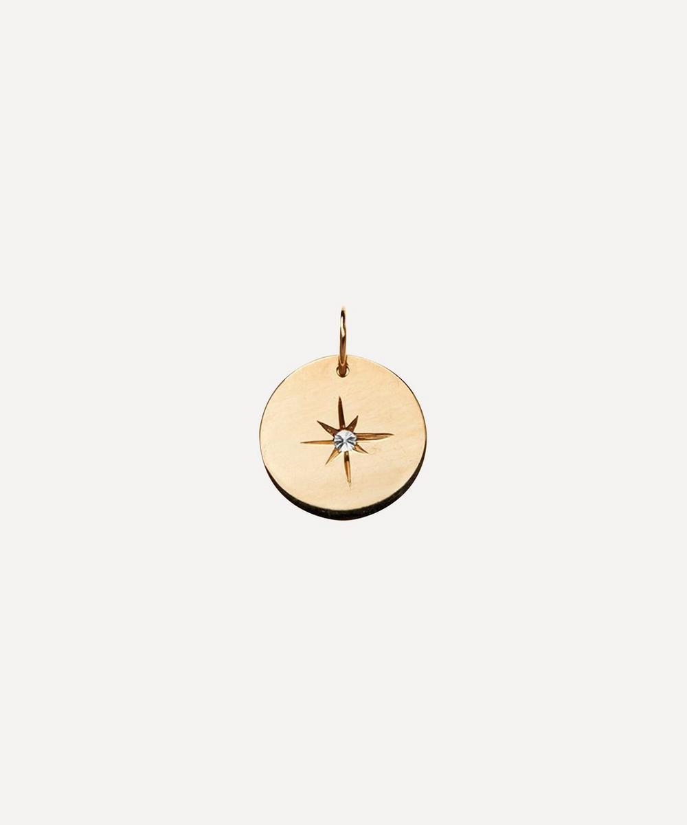 Atelier VM - Gold Diamond Eye Charm