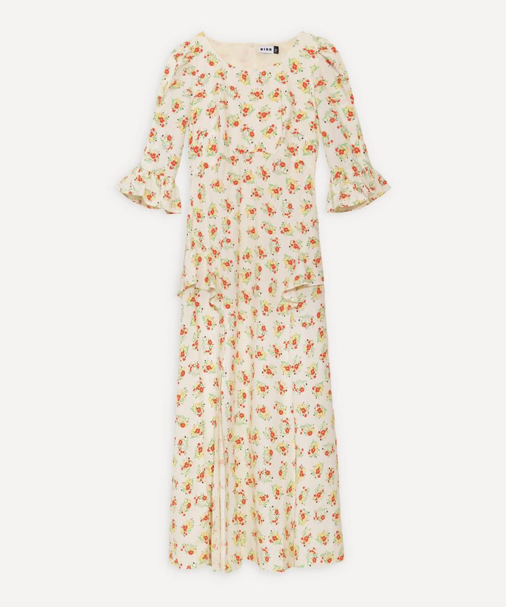 RIXO - Quinn Ruffle-Detail Dress