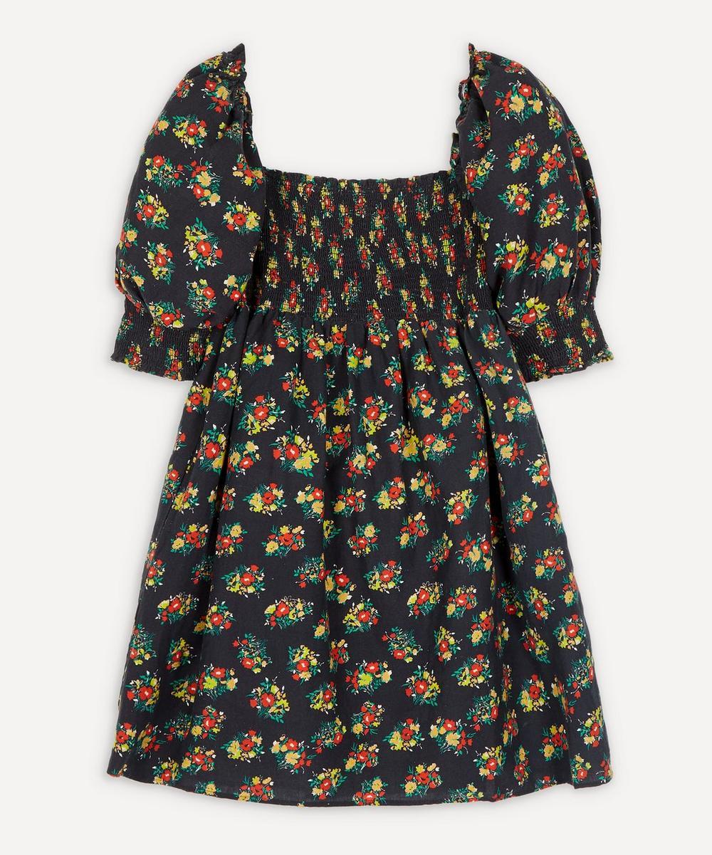 RIXO - Brenda Square-Neck Mini-Dress